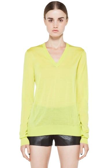 Long Sleeve V Neck Pullover