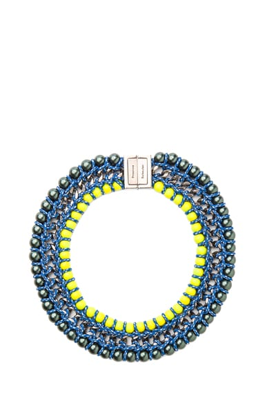 Ladder Lacquered Beads Necklace