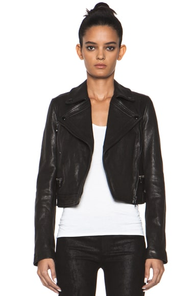 Lambskin Motorcycle Jacket
