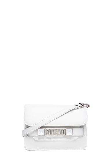 Mini PS11 Classic Smooth Leather Shoulder Bag