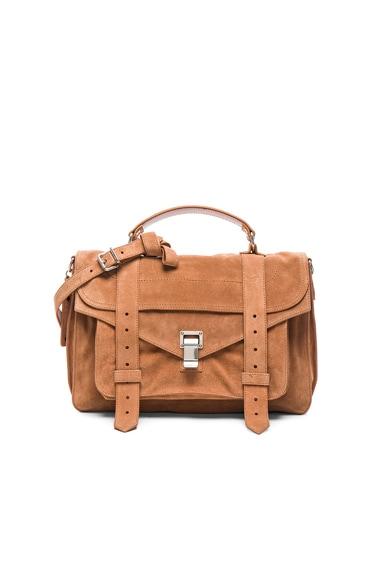 Medium PS1 Suede Bag