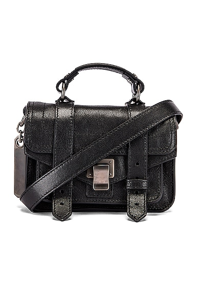 Micro PS1 Leather Bag
