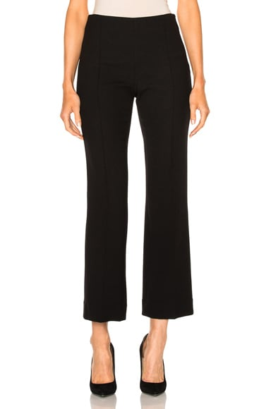 Cropped Pintuck Pant
