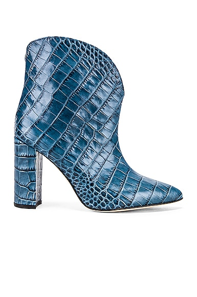 Moc Croco Ankle Boot