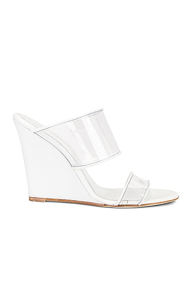Plexi Wedge 100 Heel