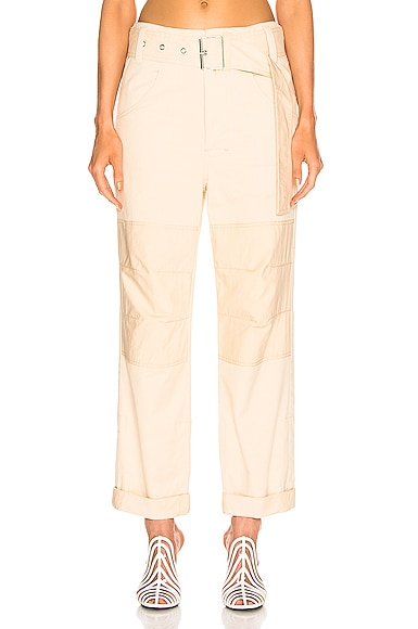 High Waisted Utility Belt Pant