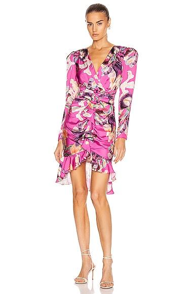 Grace Print Knee Length Dress