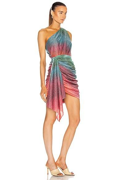 PATBO Mini dresses SUNSET LUREX MINI DRESS