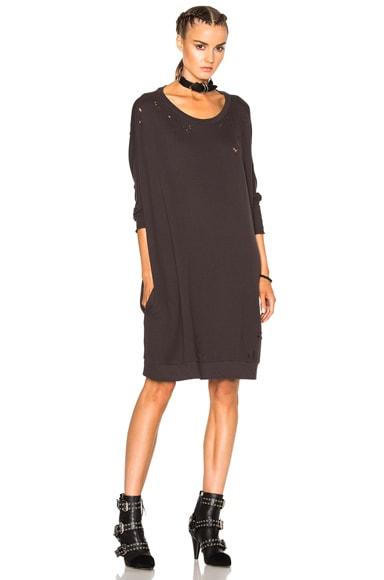 Dolman Sweatshirt Dress