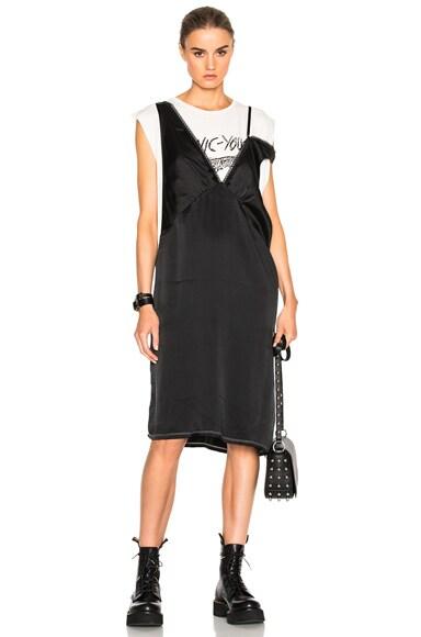 Overlay Lingerie Slip Dress