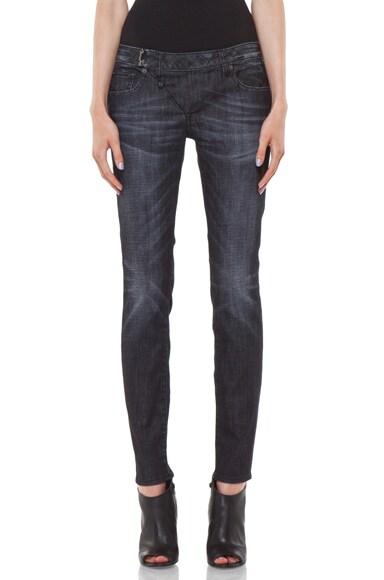 Zip Skinny Jean