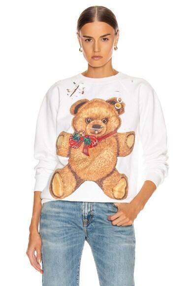 Teddy Bear Crewneck Sweater