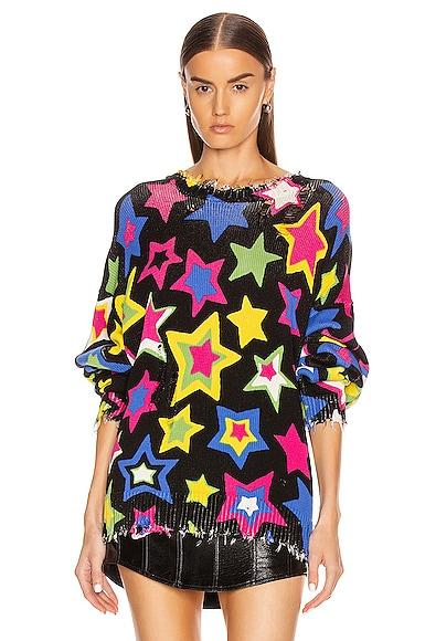 Stars Oversized Sweater