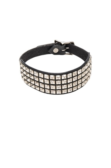 Square Studded Choker