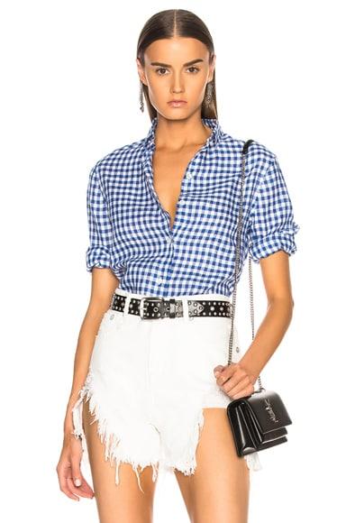 3/4 Sleeve Summer Oxford Shirt