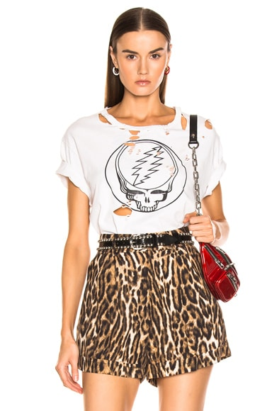 Steal Your Face Distressed Boy Tee