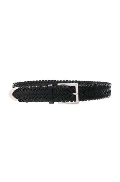 Slim Braided Belt