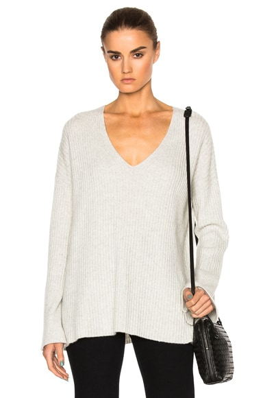 Phyllis Cashmere V Neck Sweater