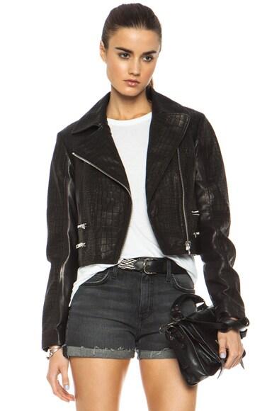 Vespa Lambskin Leather Jacket
