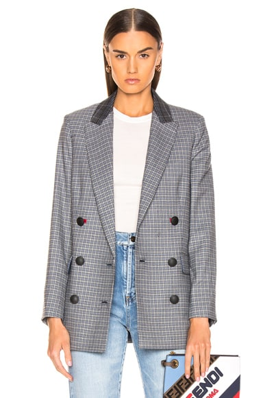 Ellie Check Blazer