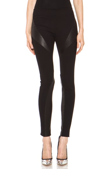 Jackson Legging with Leather