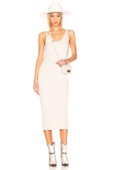Alloy Rib Midi Dress