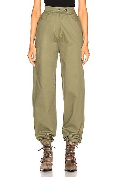 Structured Cargo Pant
