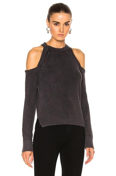 Dana Cold Shoulder Sweater
