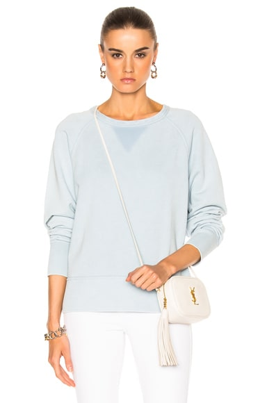 Washed Classic Pullover Sweatshirt