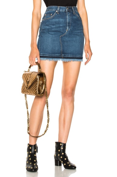 Dive Denim Skirt