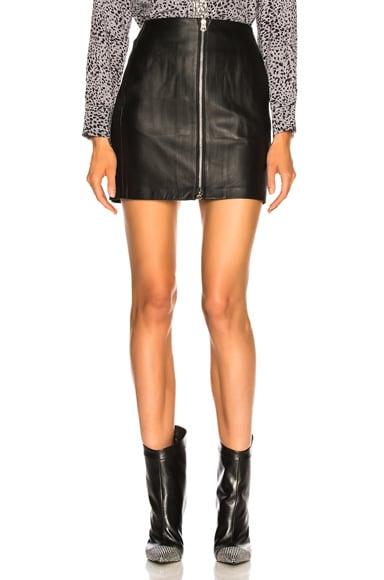 Heidi Leather Skirt