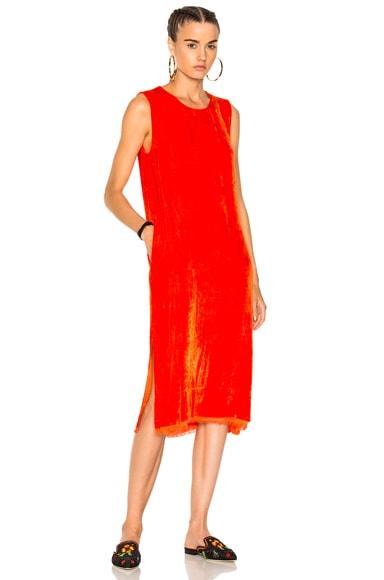 Velvet Shell Dress