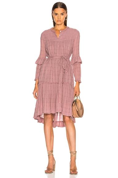 Victorian Ruffle Dress