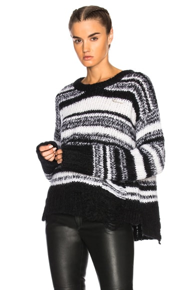 Stripe Lofty Sweater