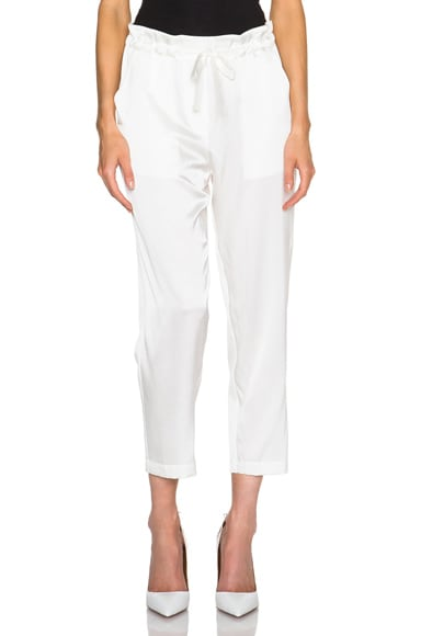 Silk Slouchy Pants