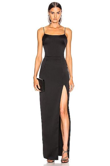 Front Split Gown