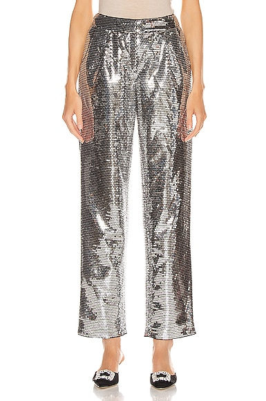 Sequined Cigarette Pant