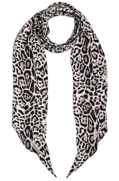 Printed Light Satin Scarf