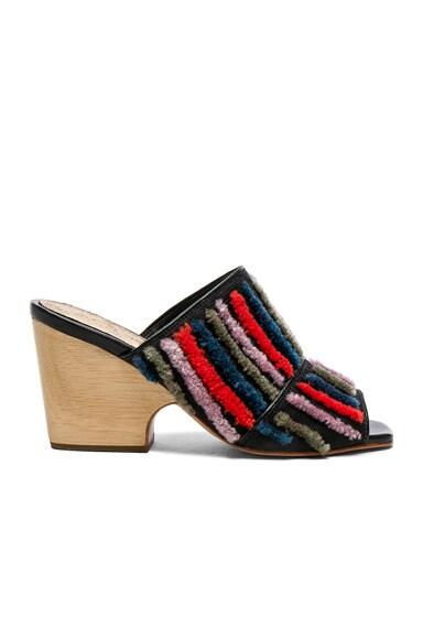 Embroidered Dahl Sandals