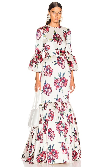 Bell Sleeve Patio Dress