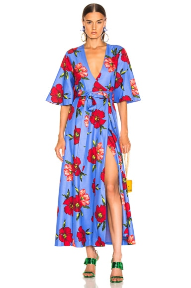 Daisy Wrap Dress