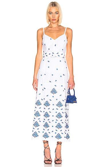 Picnic Eyelet Dress