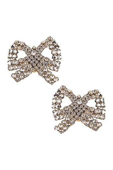 Tie Me Up Crystal Earrings