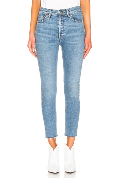 Originals High Rise Ankle Crop by RE/DONE, available on fwrd.com Kaia Gerber Pants SIMILAR PRODUCT