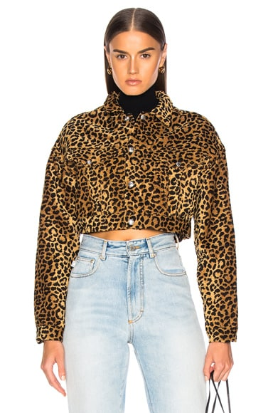 ORIGINALS Leopard Cropped Jacket