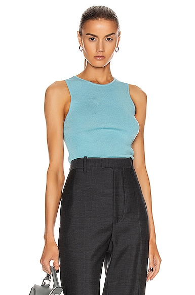 Gere Sleeveless O Neck Top