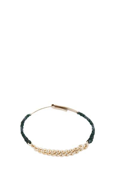 x Scosha Gold Bar Bracelet with Chain