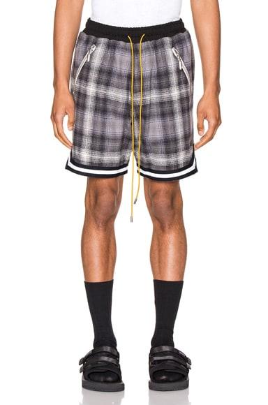 Plaid BBall Shorts