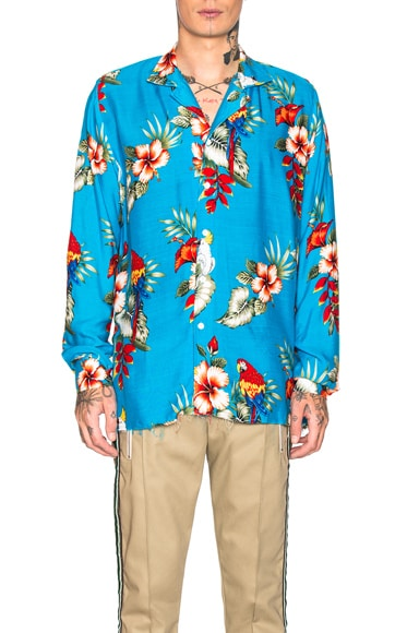 Hawaiian Birds of Paradies Shirt