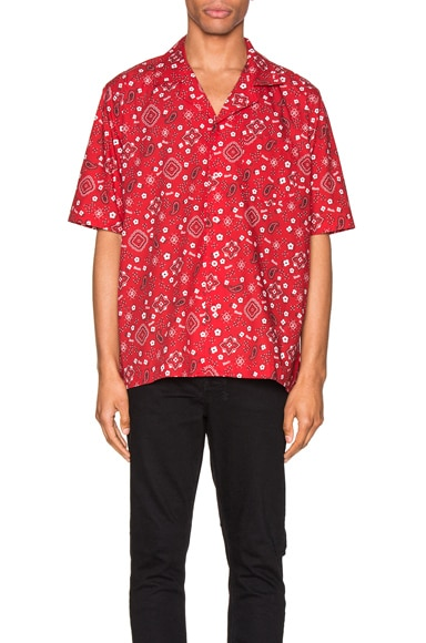 Bandana Hawaiian Shirt